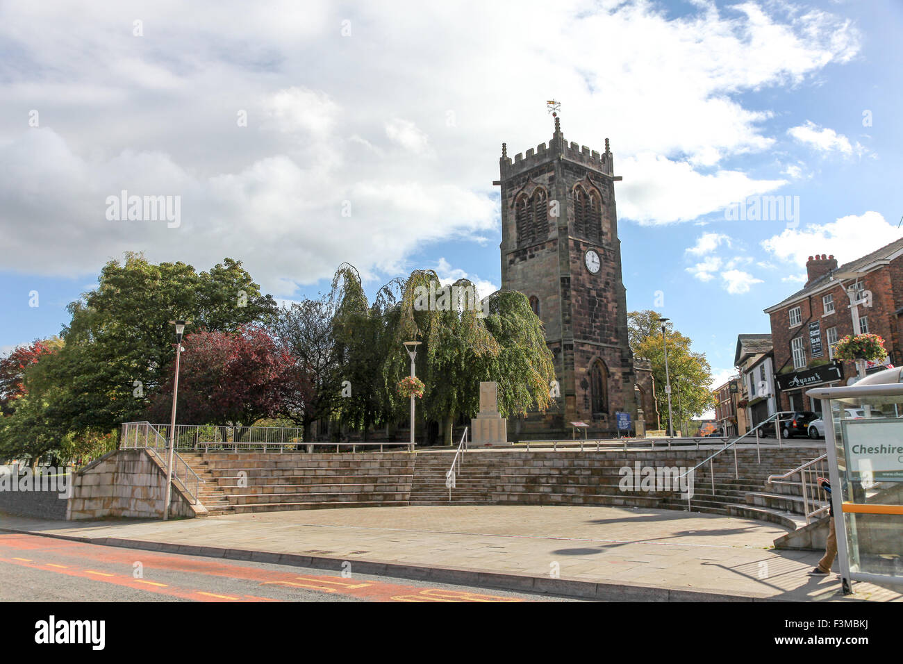 St Michael and All Angels church Middlewich Cheshire England UK - Stock Image