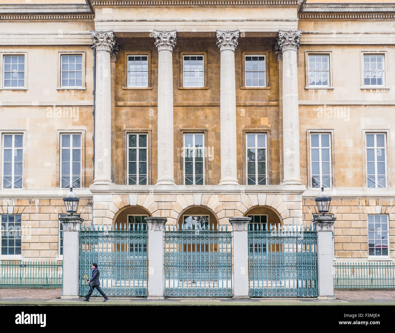 Apsley House, London, formerly the home of the Duke of Wellington (Arthur Wellesley, 1769-1852), the victor at Waterloo. - Stock Image
