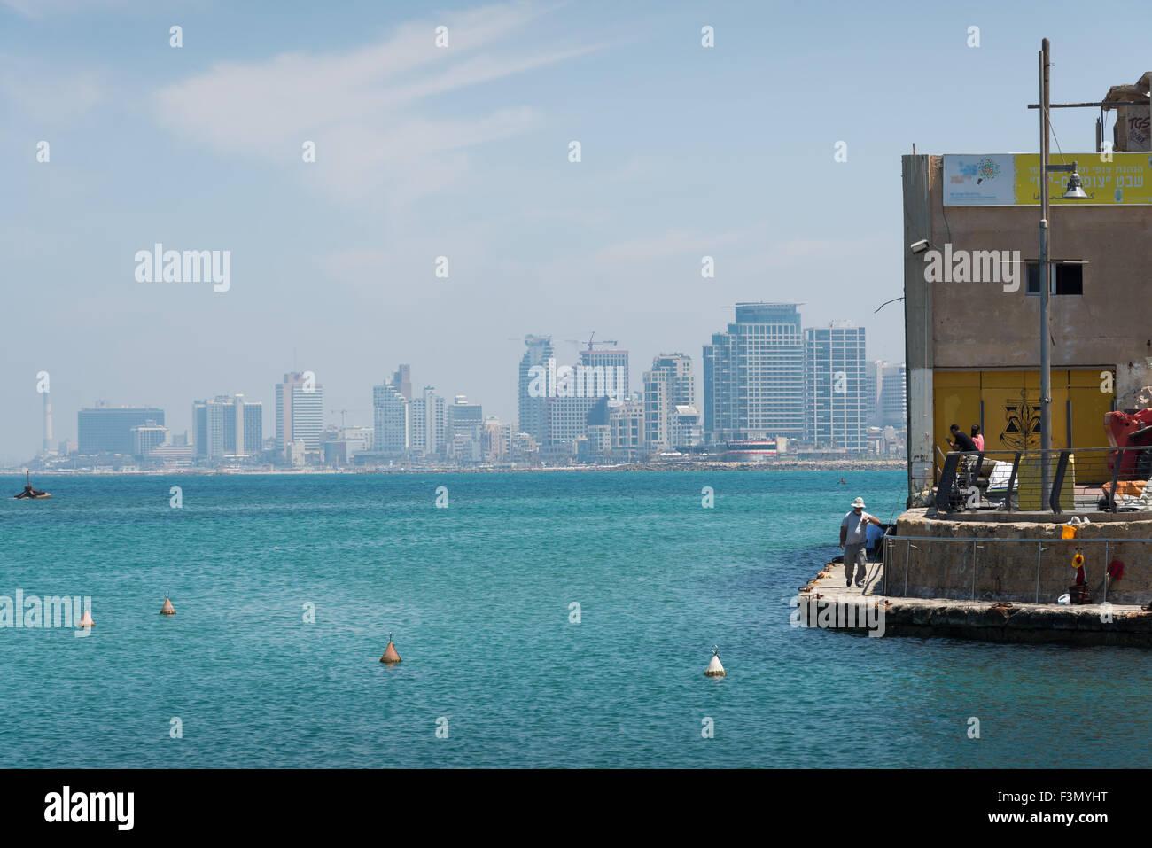 Tel Aviv cityscape - Stock Image
