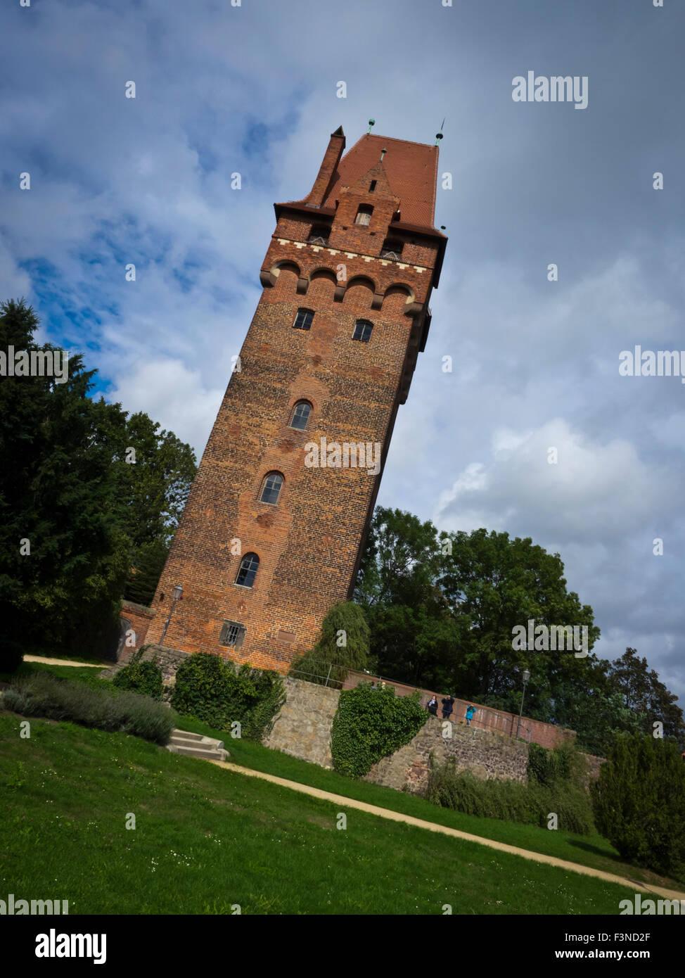 Kapitelturm in Tangermünde Stock Photo