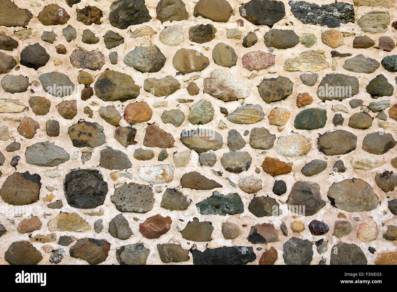 Rustic Field Stone Background Lots Of Texture Photograph A Wall Section
