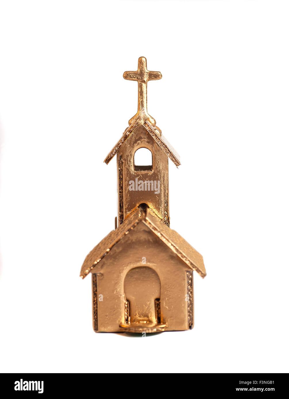 Golden Church - Stock Image