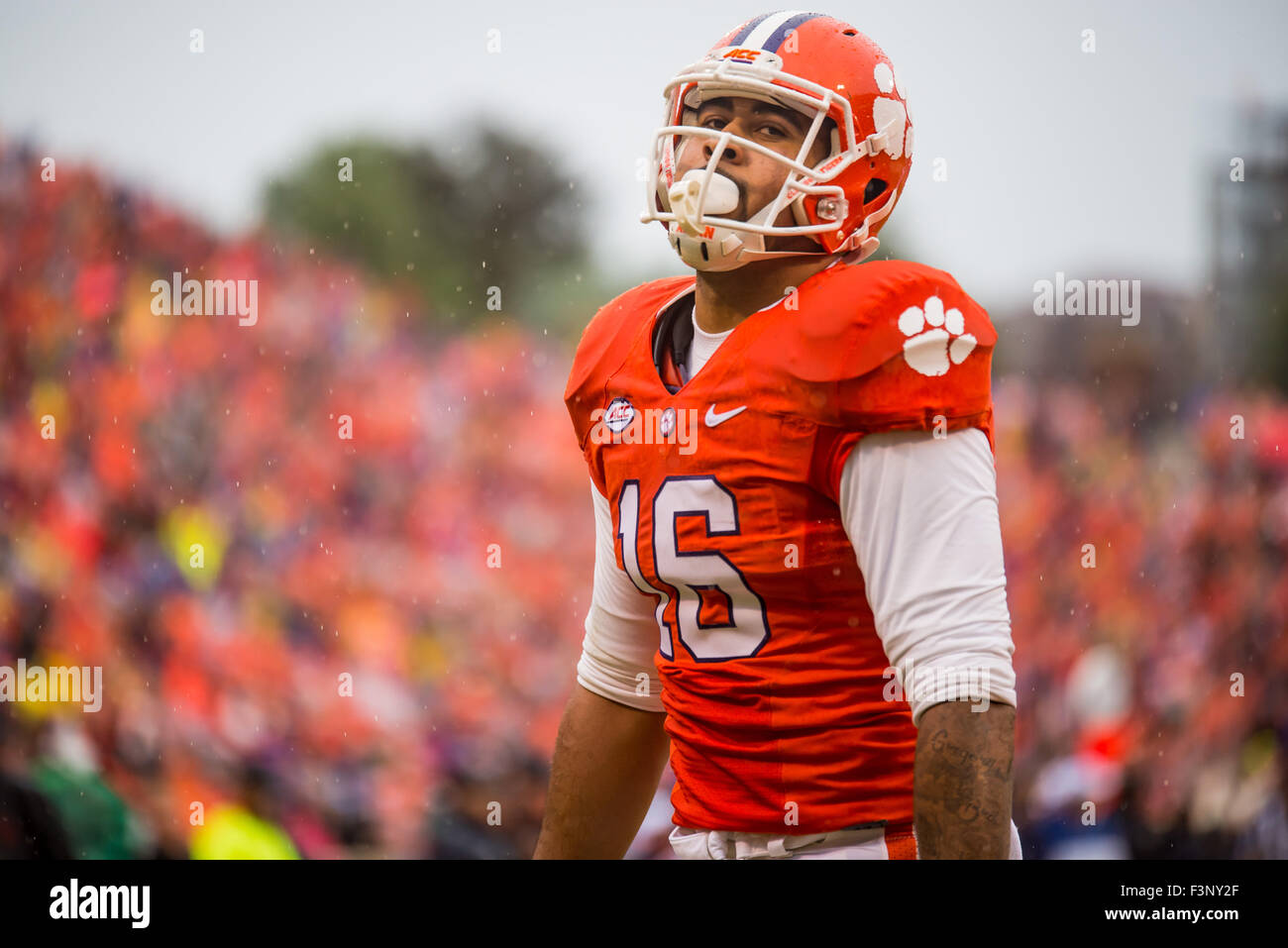 Clemson Tigers Tight End Jordan Leggett 16 After A