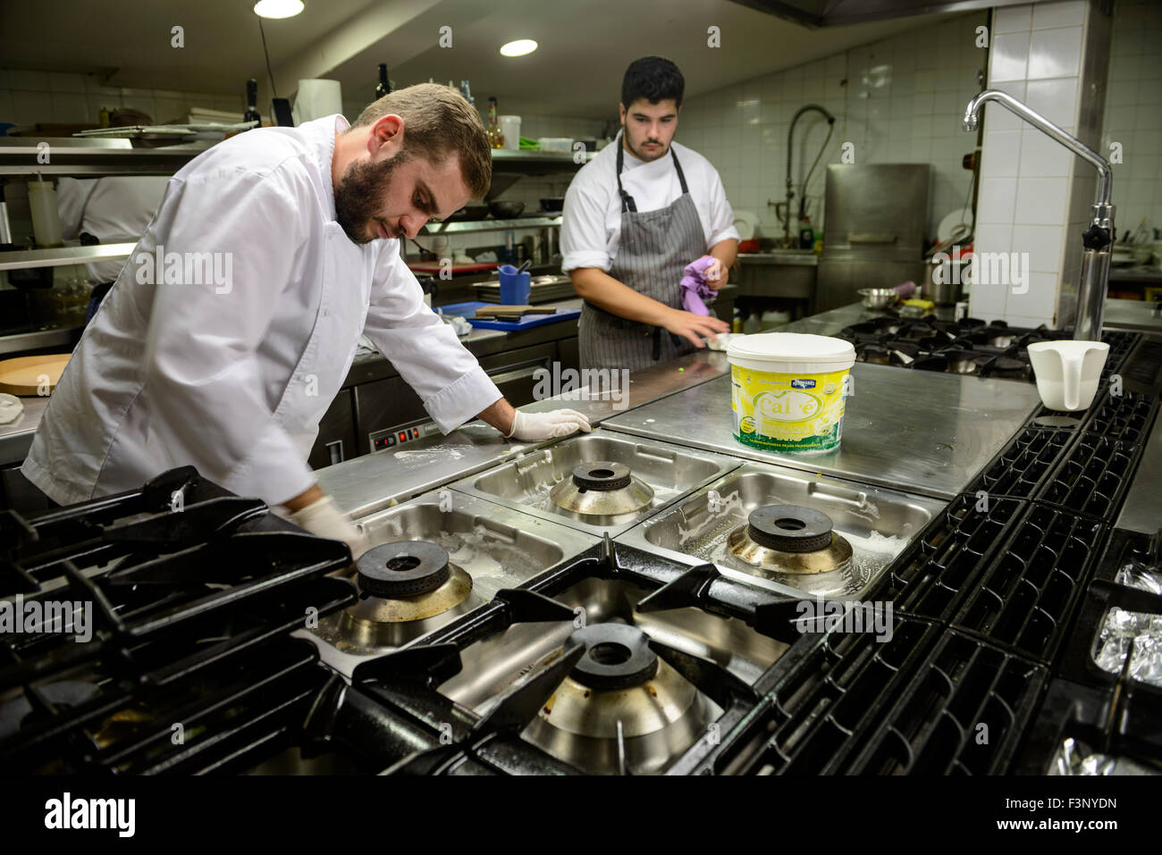 Industrial Kitchen Cleaning Stock Photos & Industrial ...