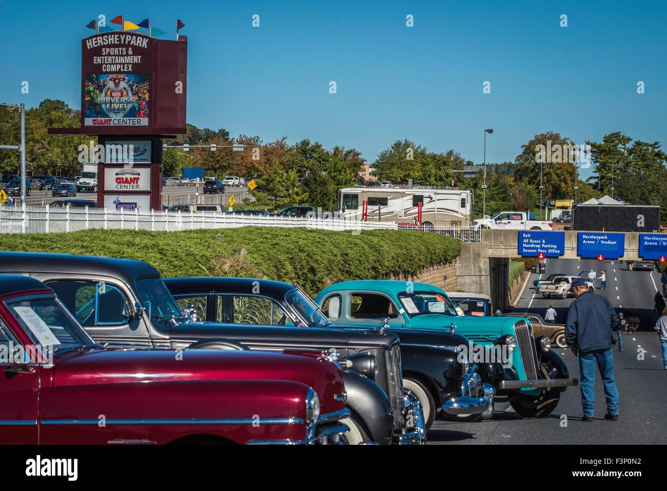 Hershey USA Th Oct Over Flea Market Spaces And - Usa flea market car show