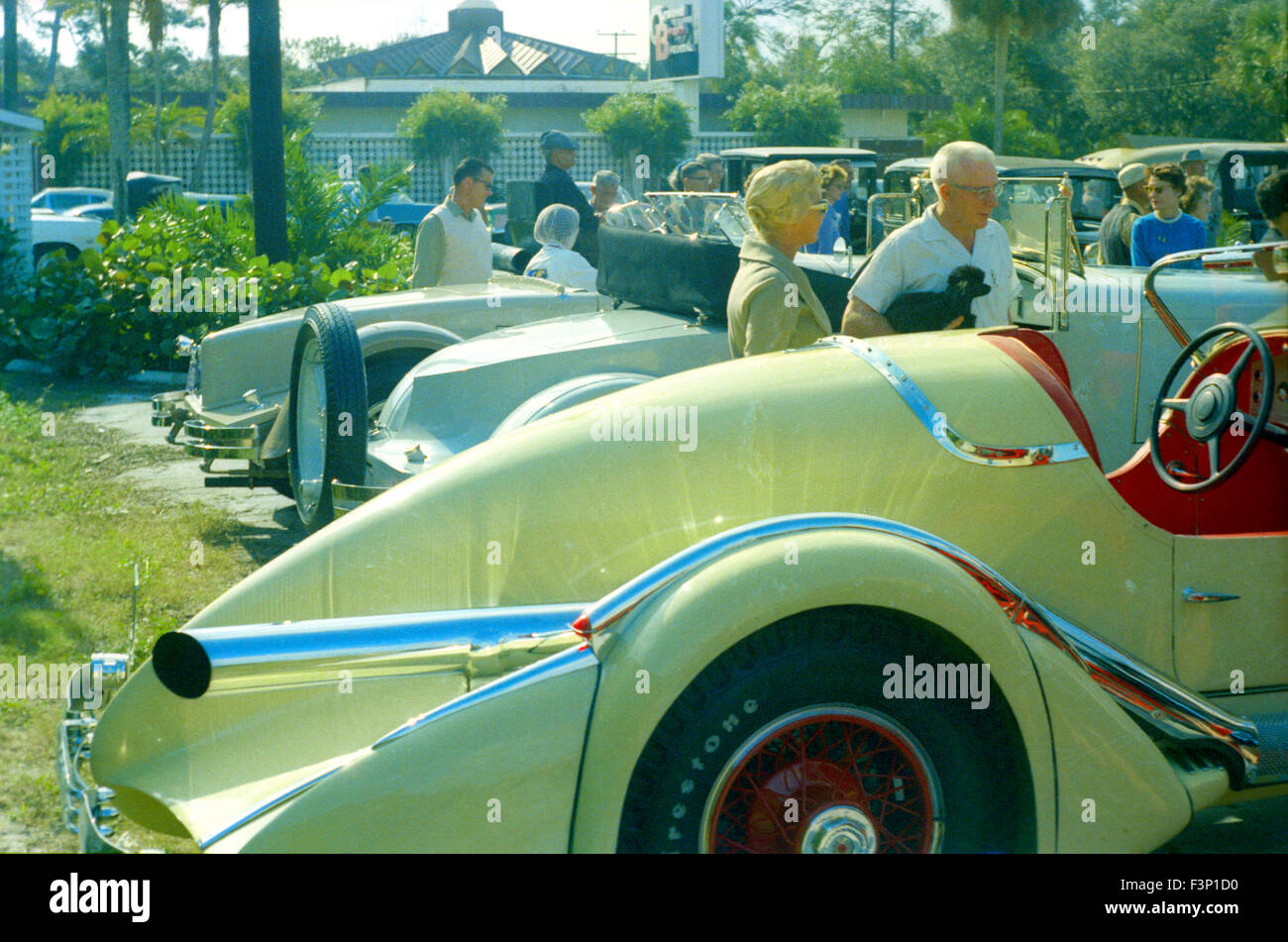 early sports cars at 1960s car show in Florida Stock Photo: 88379900 ...