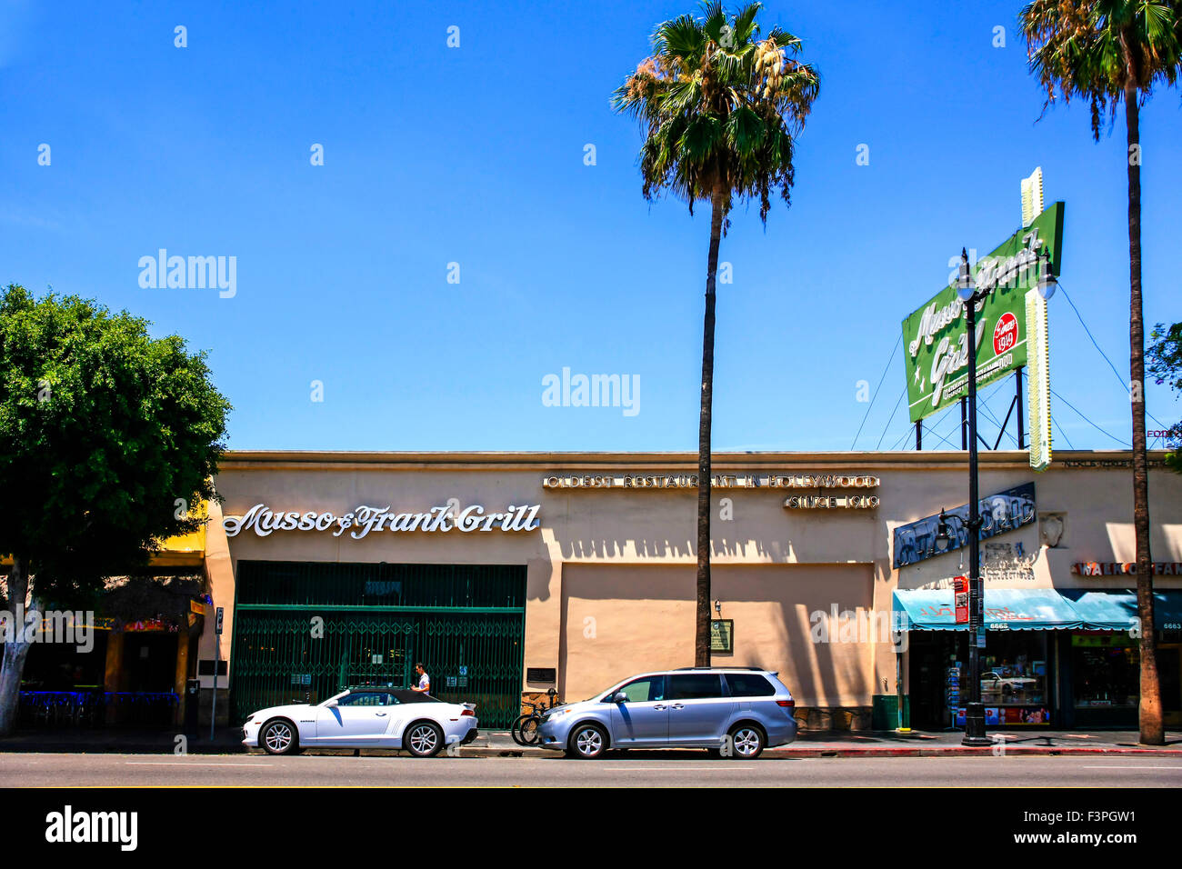 Musso and frank grill on hollywood blvd in los angeles ca stock photo 88391997 alamy - Musso and frank grill hollywood ...