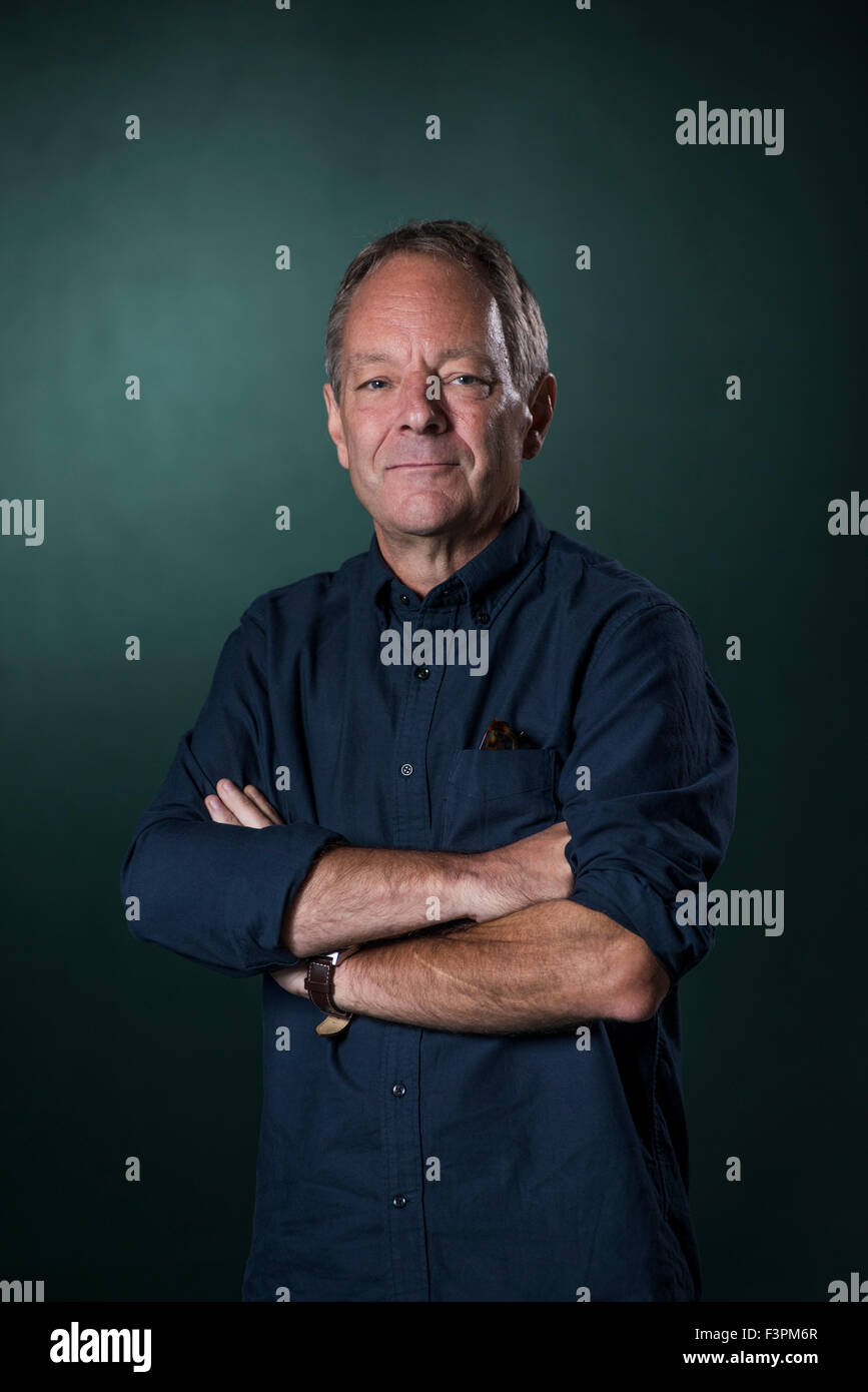 American writer Tom Drury. Stock Photo