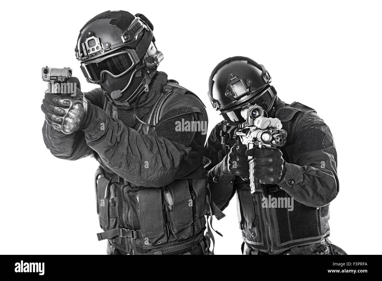 SWAT officers Stock Photo: 88397214 - Alamy
