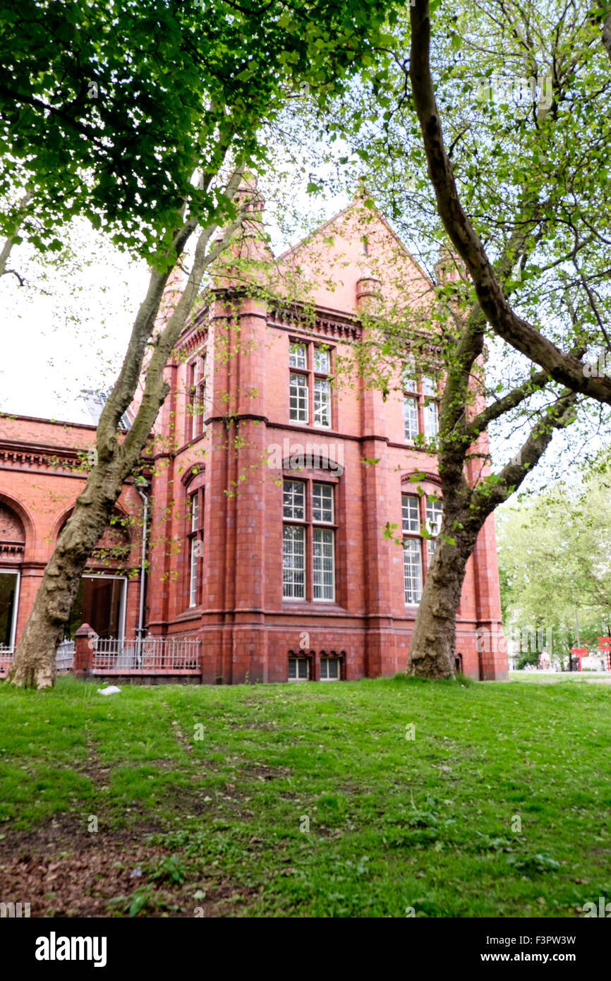 Whitworth Art Gallery, Oxford Road, Manchester, UK - Stock Image