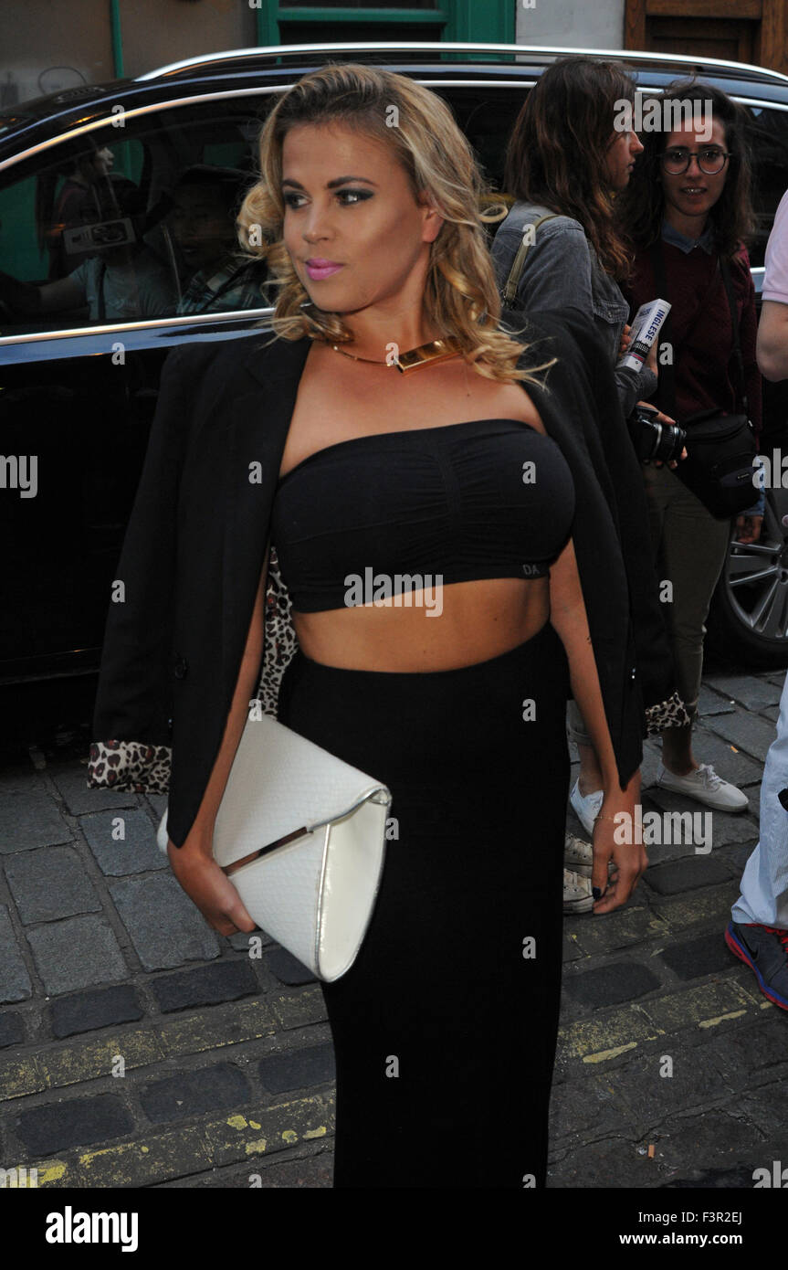 London, UK, 28 July 2015, Lady Nadia Essex attends Ego Professional x Macmillan Cancer party. - Stock Image