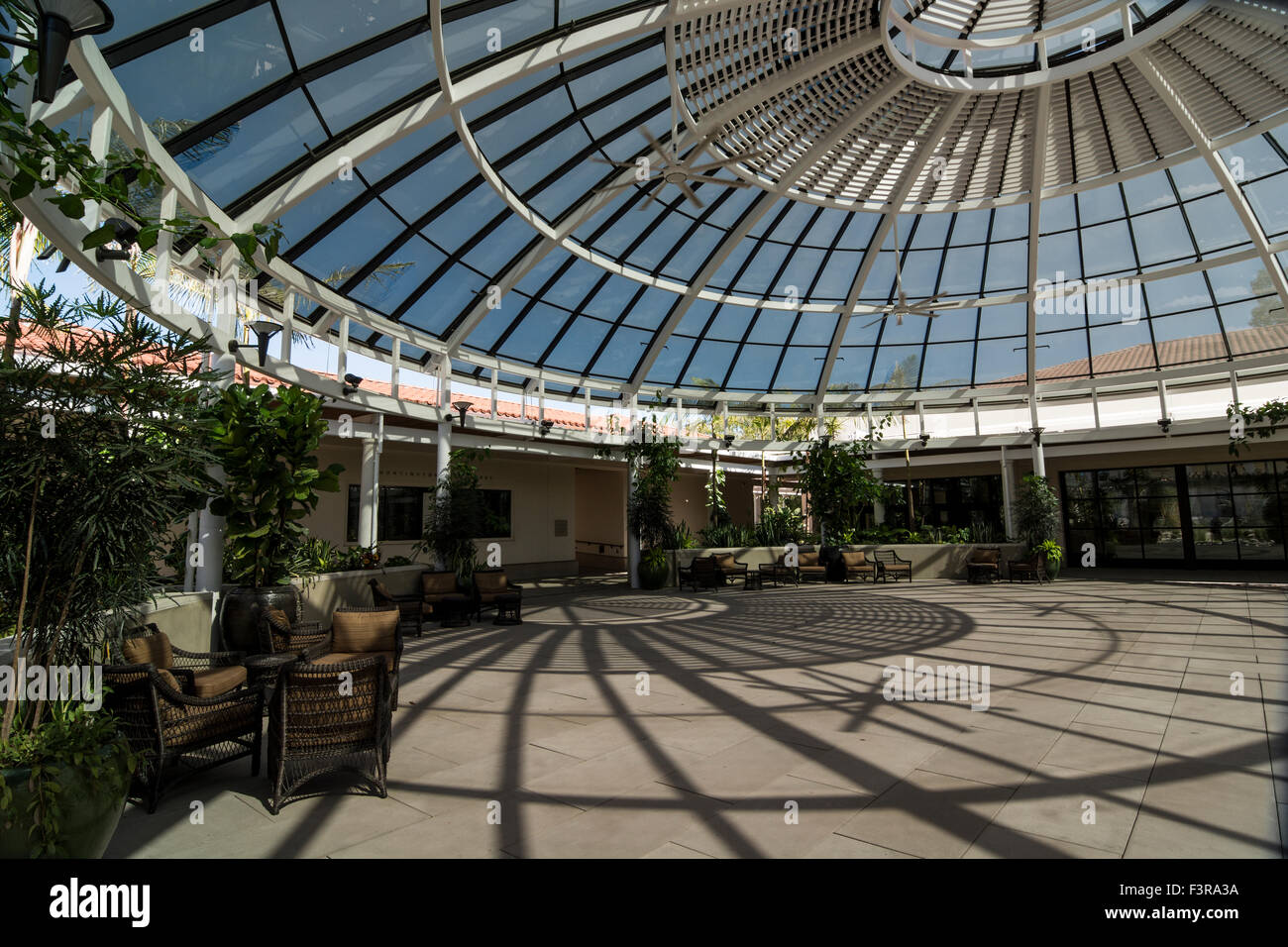 The Garden Dome at the Huntington Library, San Marino, CA, U.S.A. - Stock Image