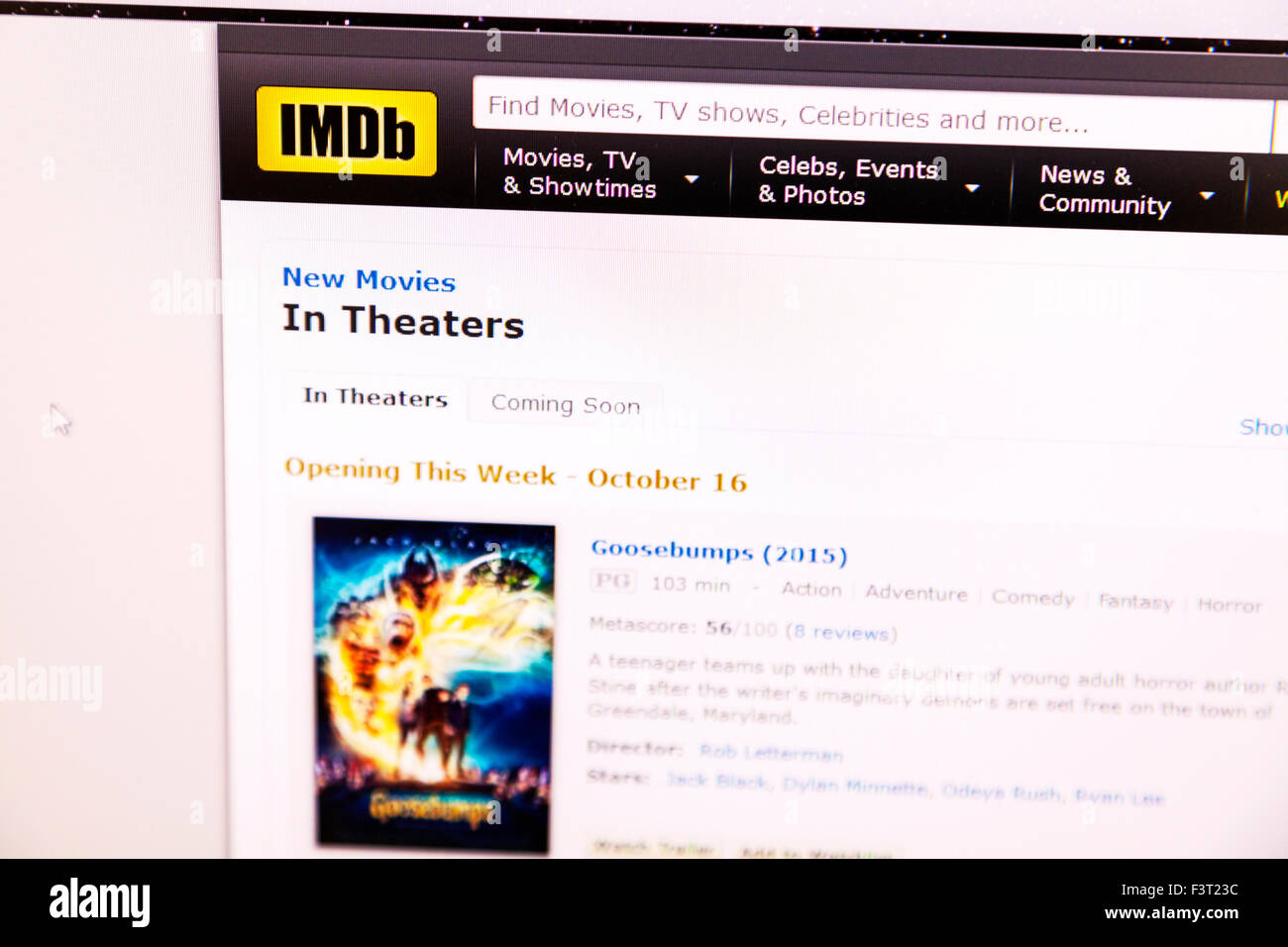 Movies Theaters Stock Photos & Movies Theaters Stock Images - Alamy