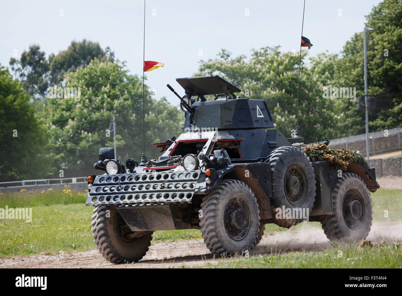 Ferret MkII Scout Car, The Tank Museum, Bovington, Dorset - Stock Image