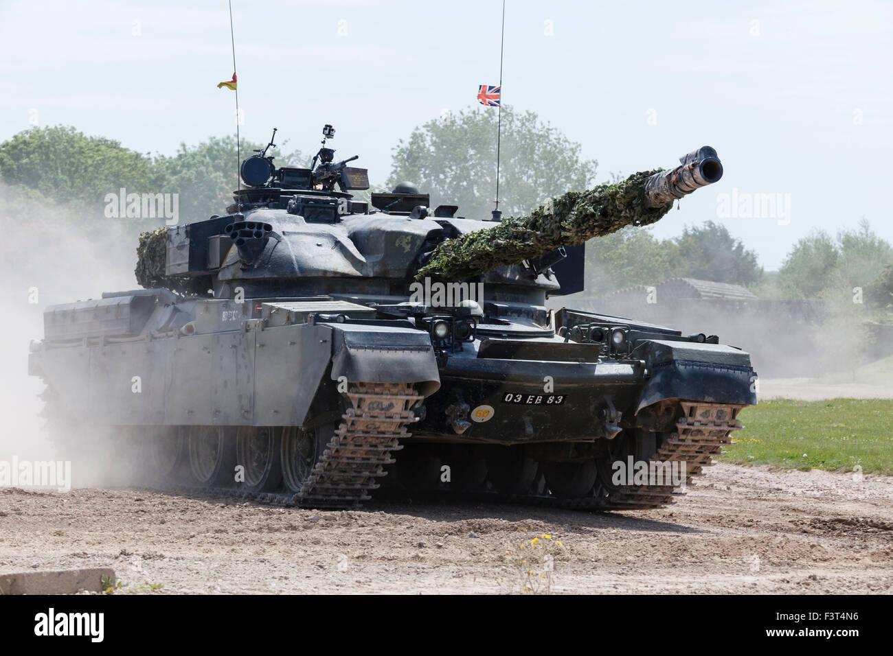 Chieftain Tank, The Tank Museum, Bovington, Dorset - Stock Image