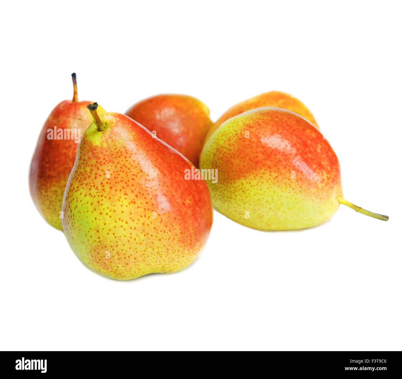Pears isolated - Stock Image