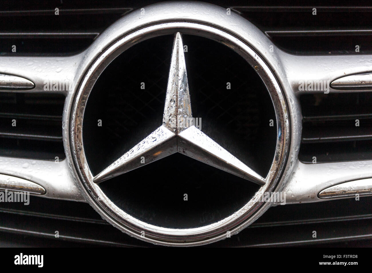 Detail Of Mercedes Benz Car Sign Stock Photo 88441060 Alamy