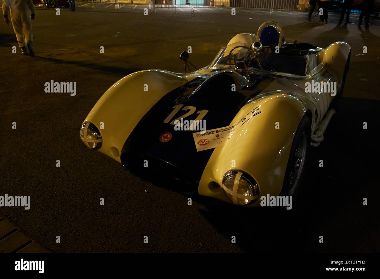 Sadler Mk III,1958, two-seater and GT up to 1960/61, parc ferme, 42.AvD-Oldtimer Grand Prix 2014 Nürburgring - Stock Image