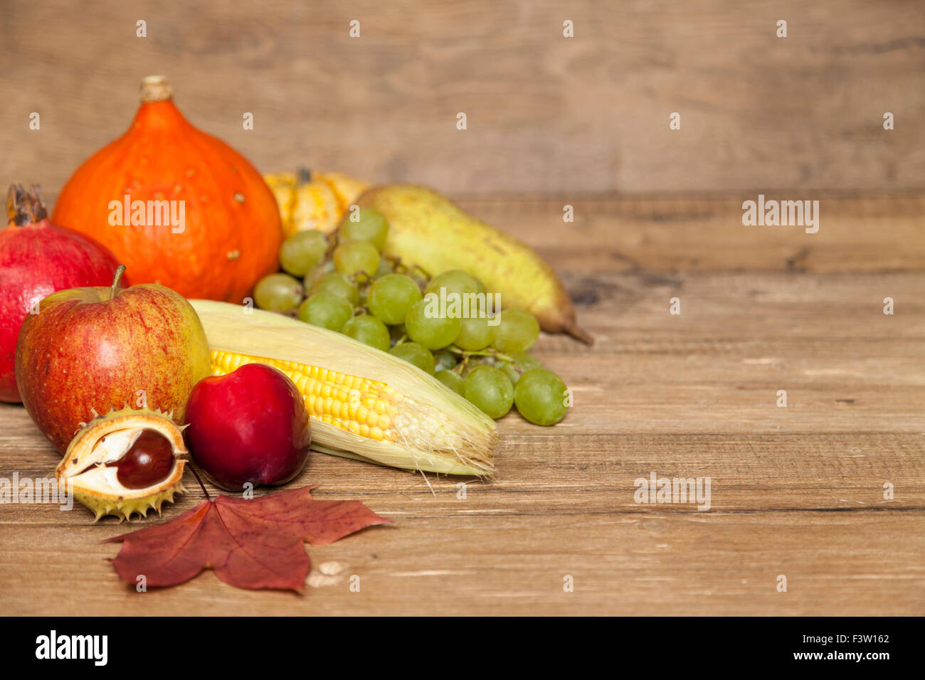 Thanksgiving Copyspace - Stock Image