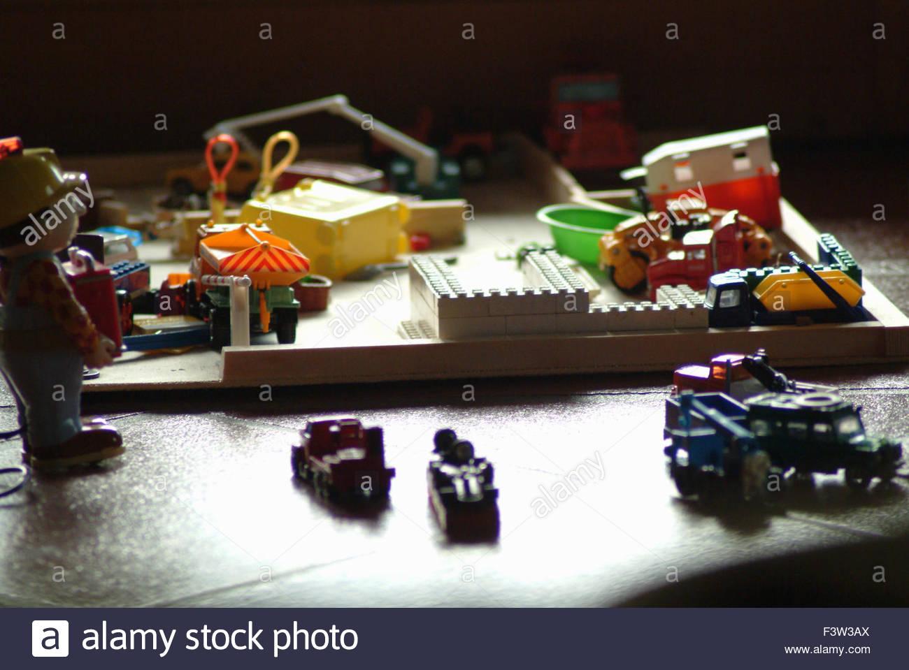 Child's Toys - Stock Image