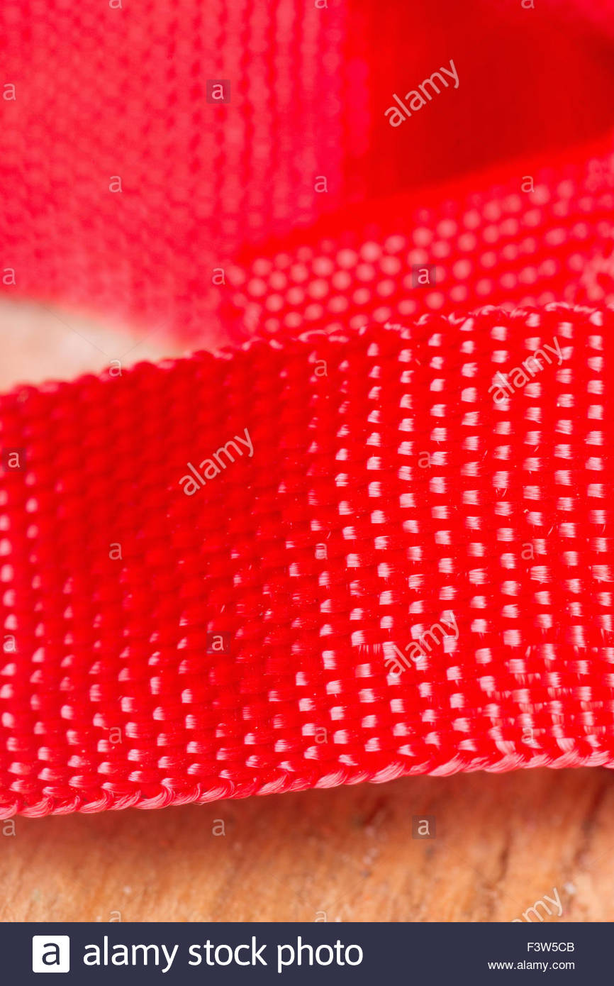 Nylon Strap - Stock Image