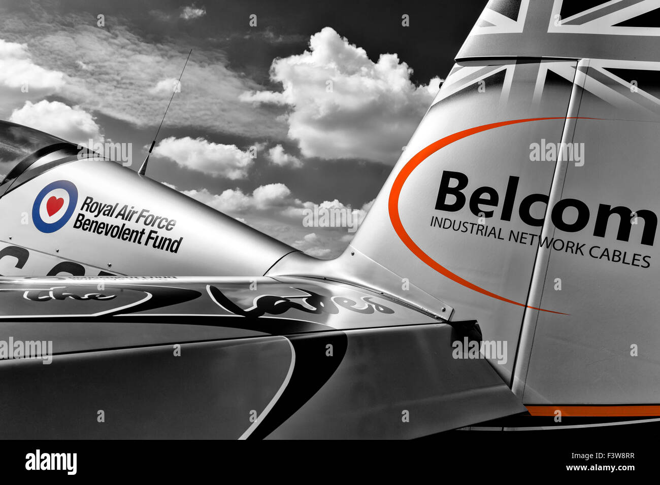 The Blades aerobatic team - Blade One - Extra Flugzeugbau E300 - Stock Image