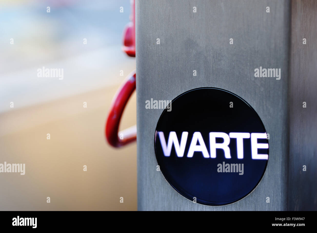 wait - Stock Image