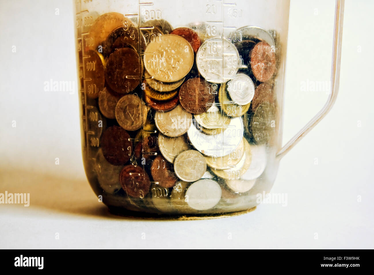 money, cash, hard cash - Stock Image