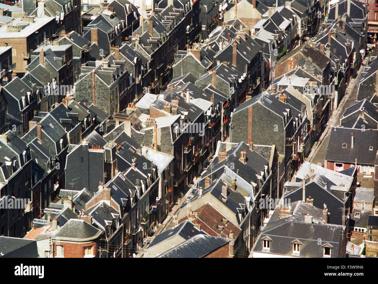 rooftops - Stock Image