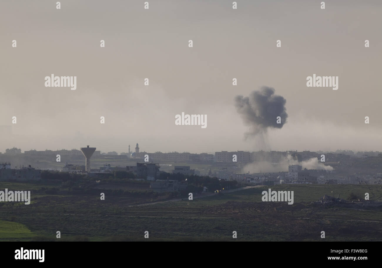 Gaza strip - Stock Image