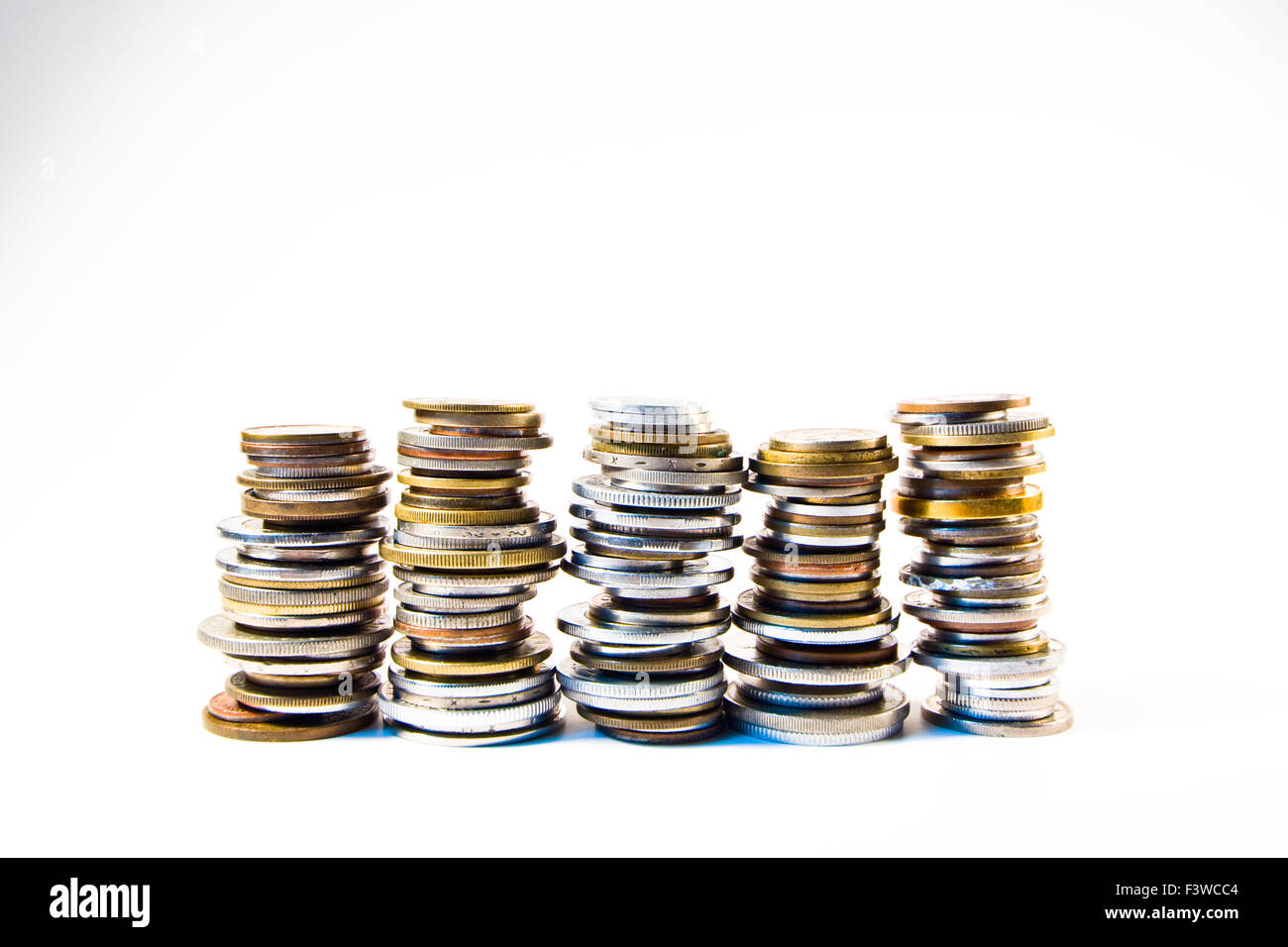 small coin, coins - Stock Image