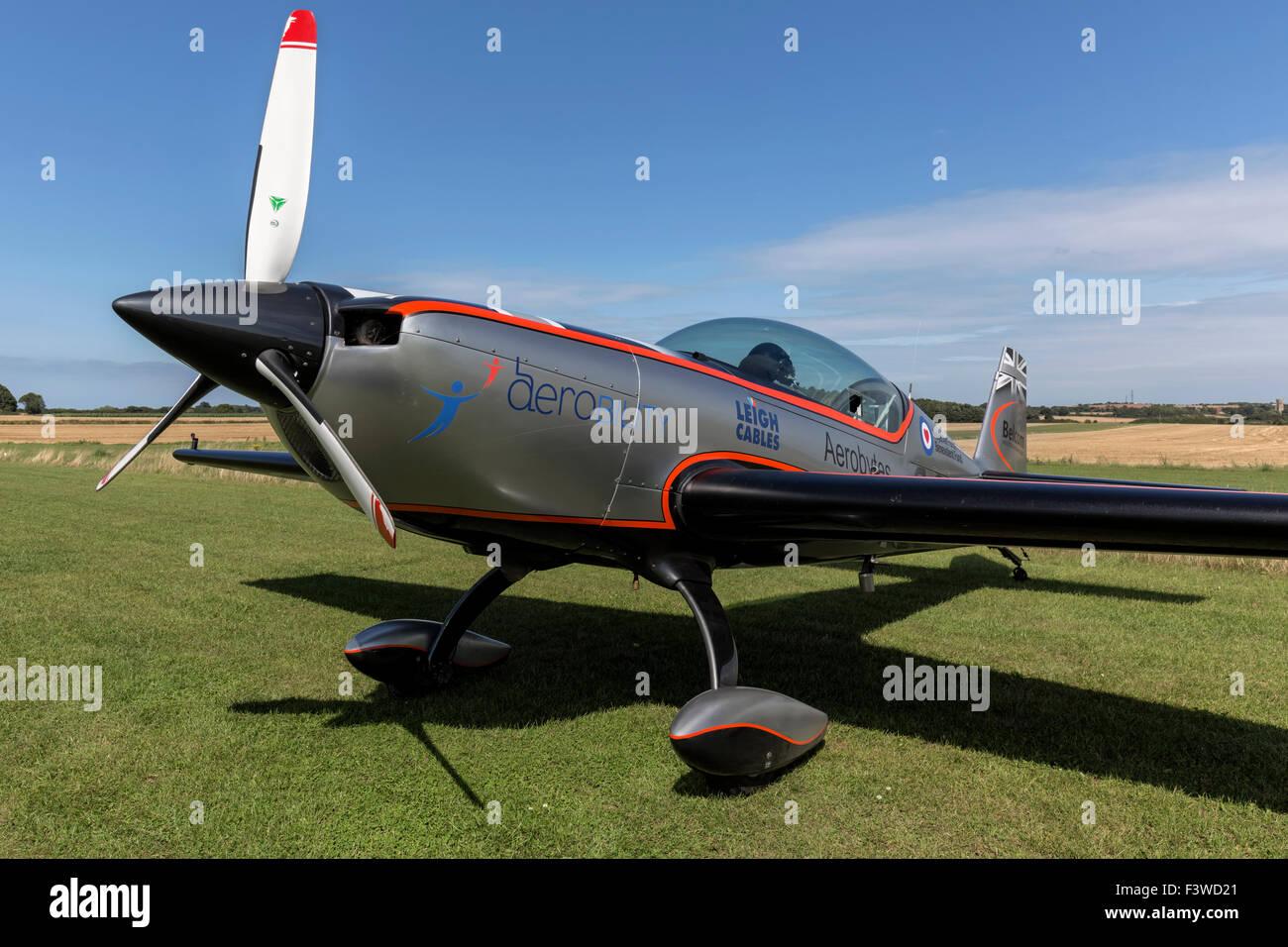 The Blades aerobatic team - Blade Two - Extra Flugzeugbau E300 - Stock Image