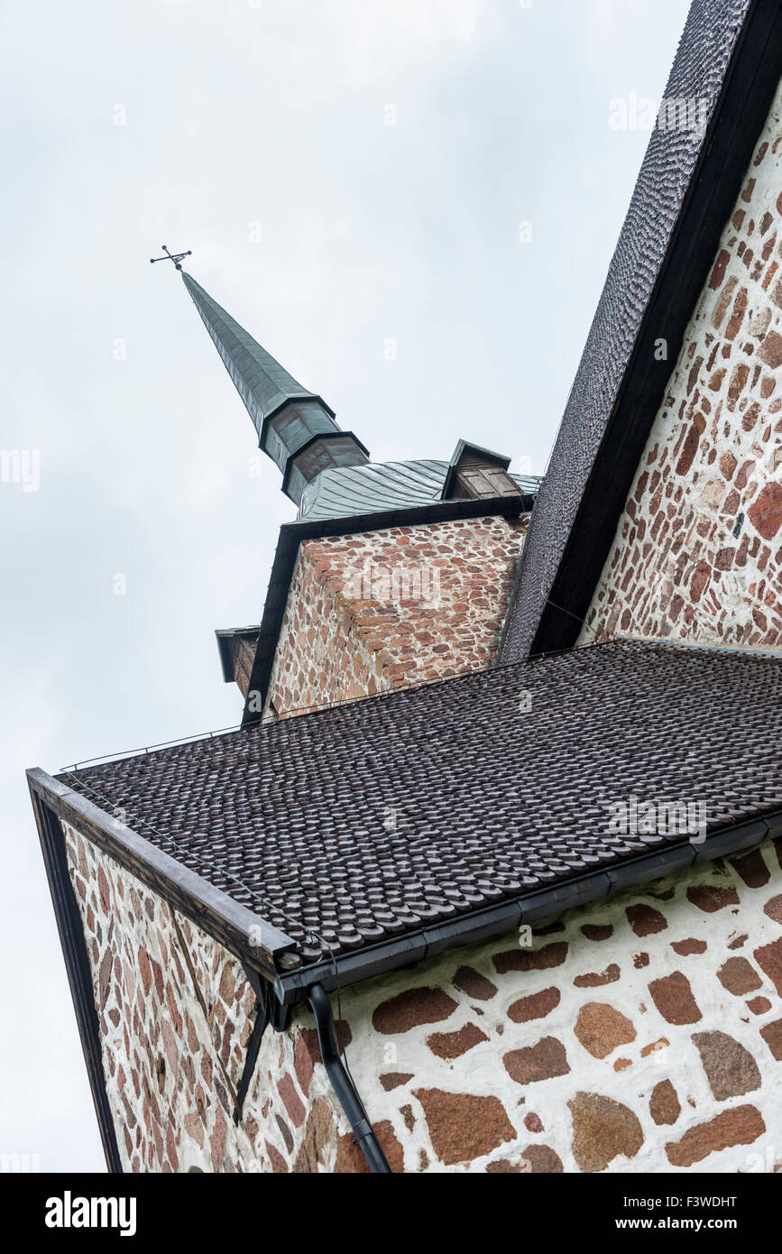 Stone church - Stock Image