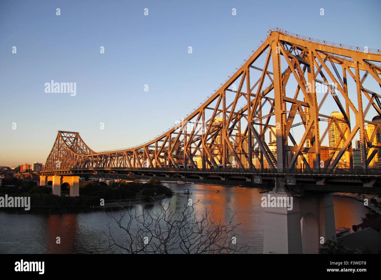 Story Bridge Brisbane - Stock Image