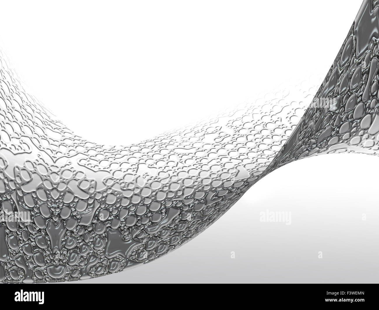 Dynamic wavy background - Stock Image