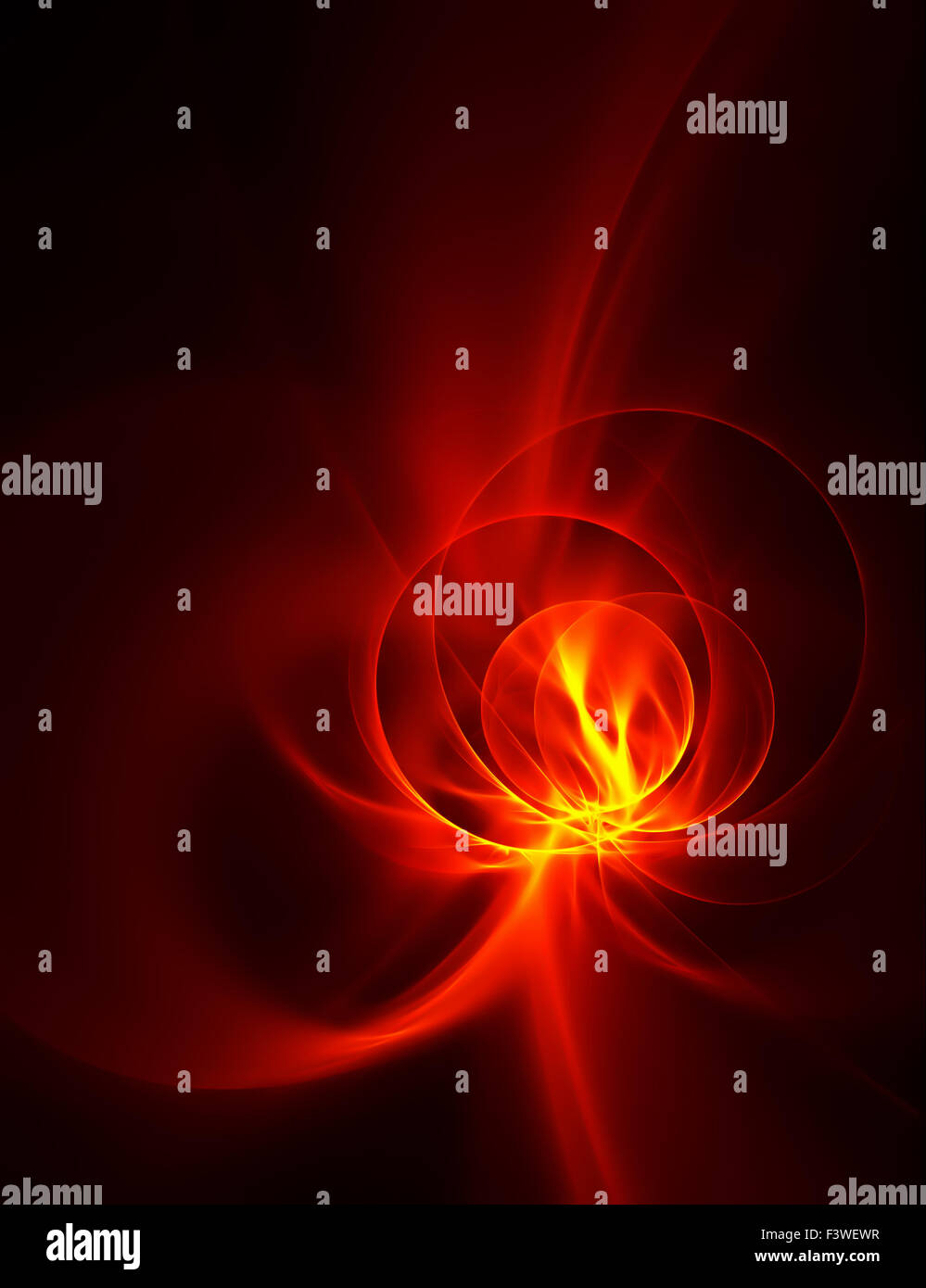 circles of fire - Stock Image