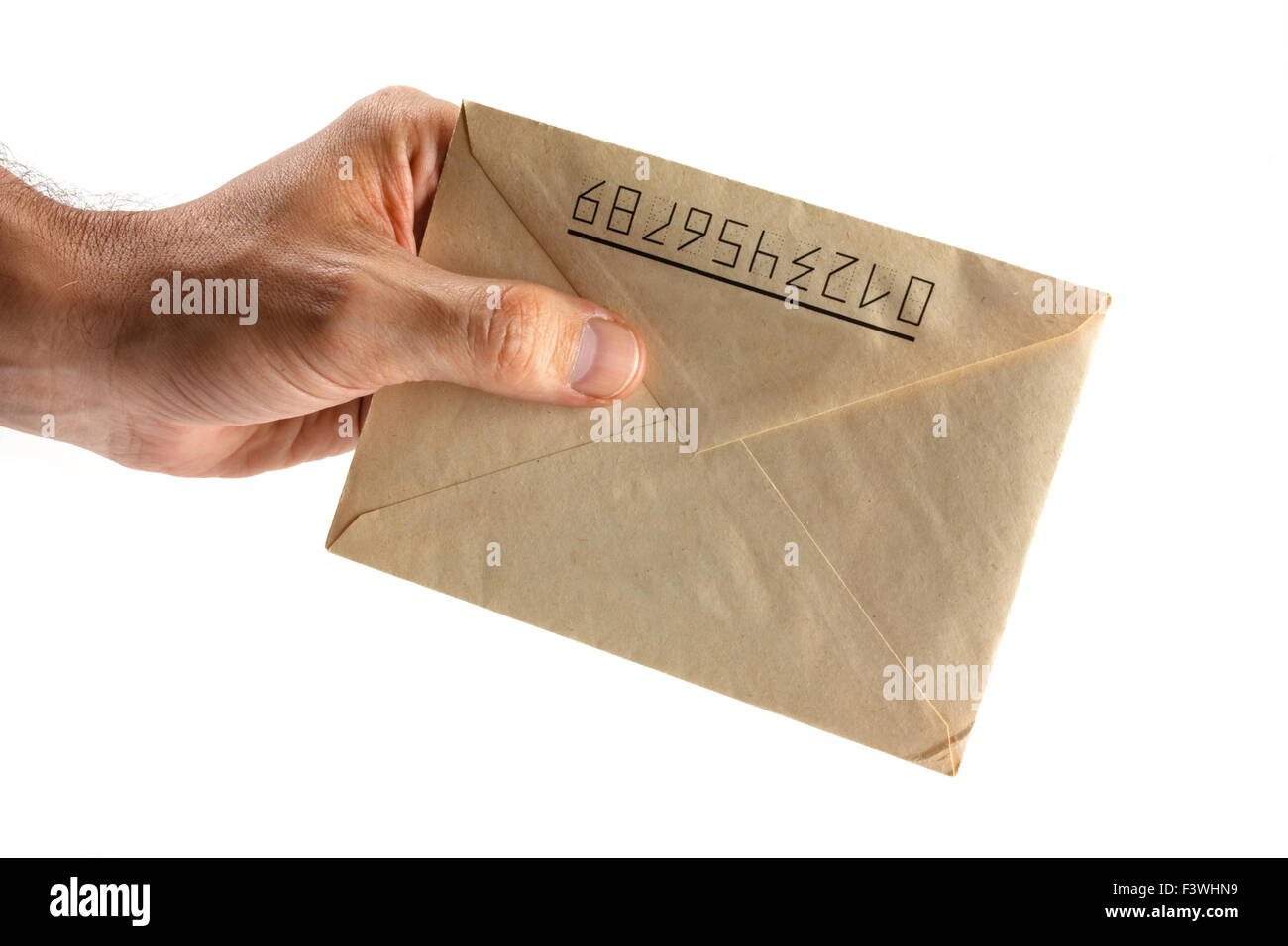 Receive email - Stock Image