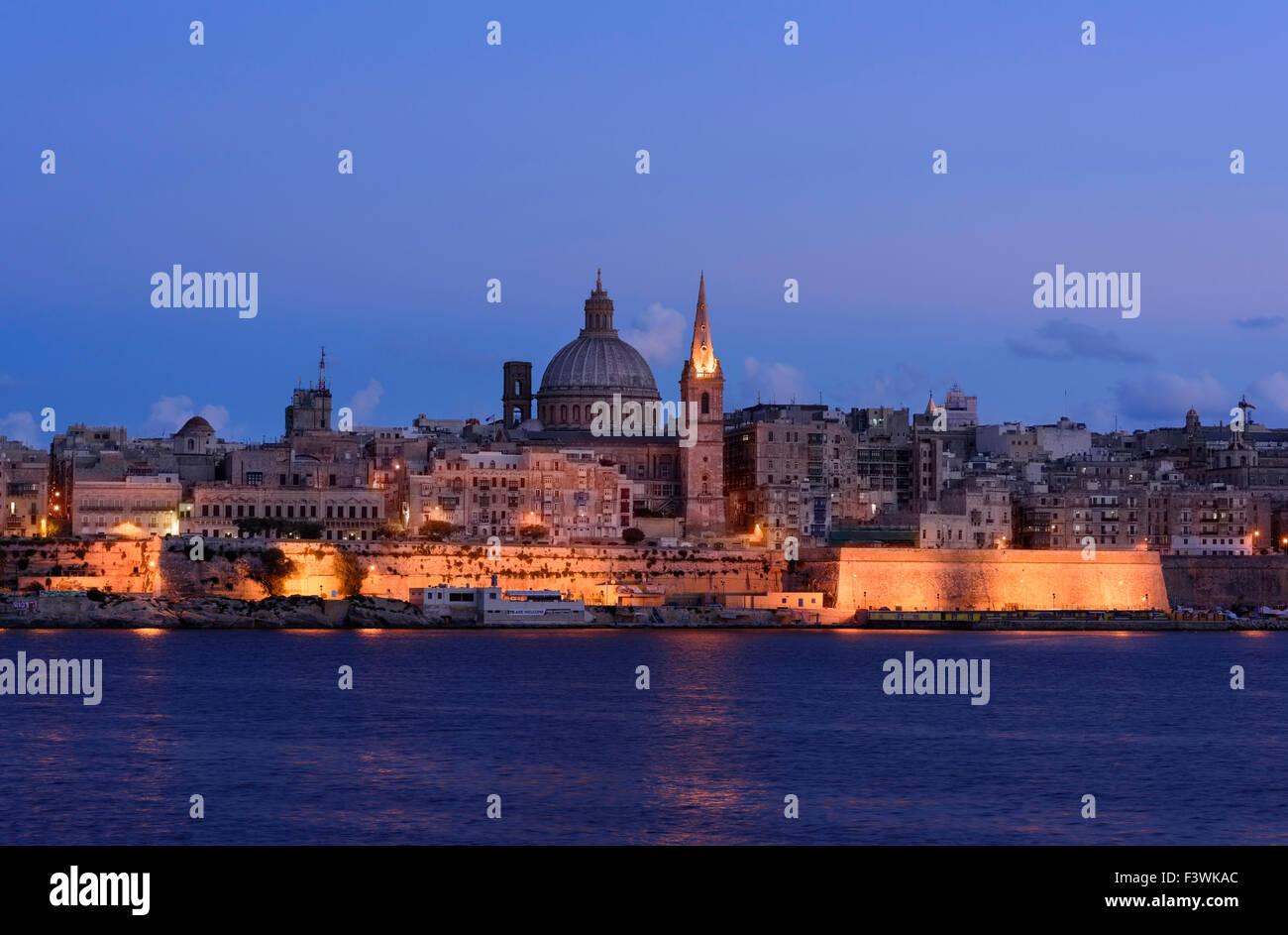 Valletta, Malta St Pauls - Stock Image