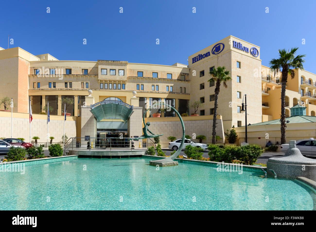 The Hilton Hotel Malta