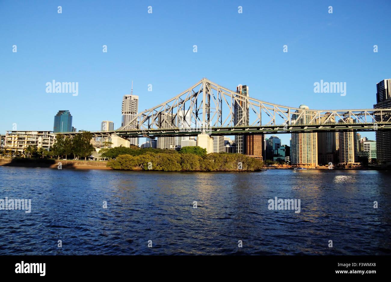 Story Bridge Brisbane Australia - Stock Image