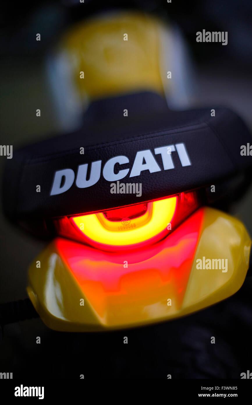 Ducati Scrambler - Stock Image