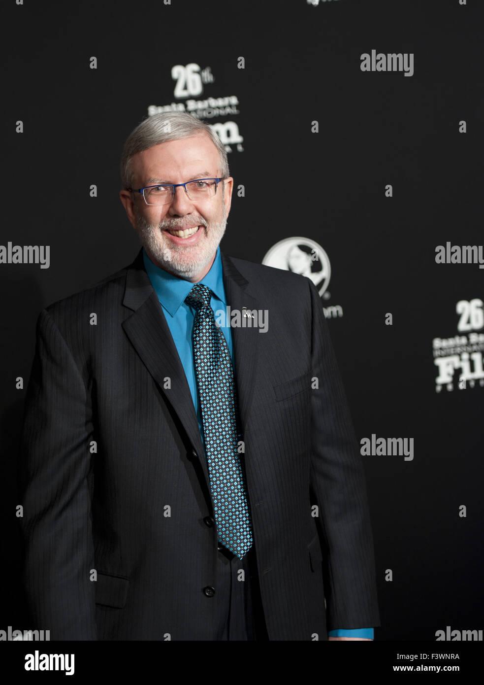 film critic and blogger Leonard Maltin - Stock Image