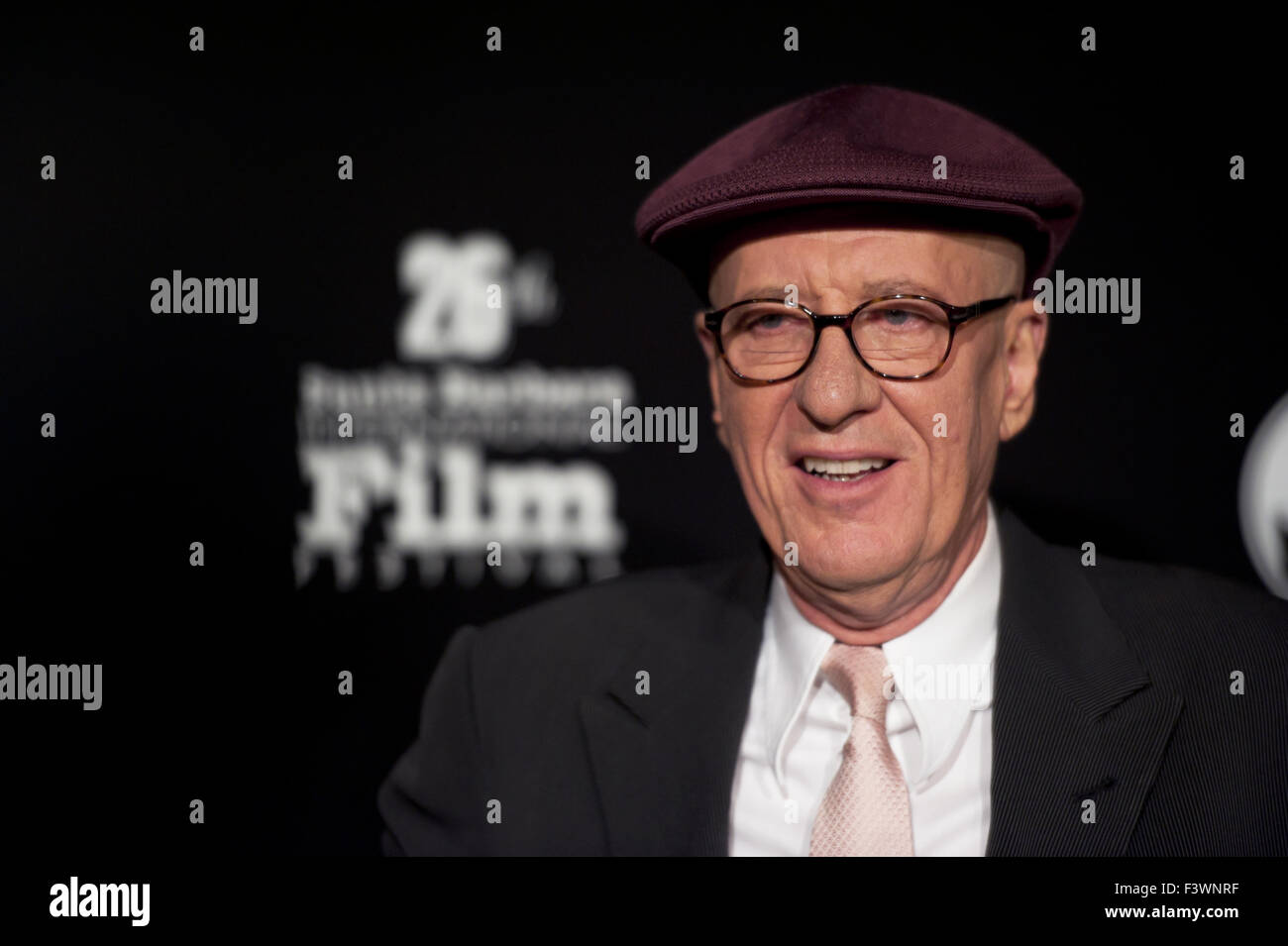 Geoffrey Rush walks the red carpet - Stock Image
