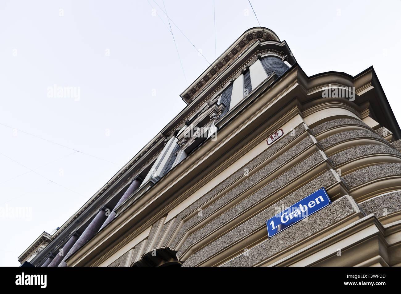 house am Graben, Vienna, Österreich, Europe - Stock Image