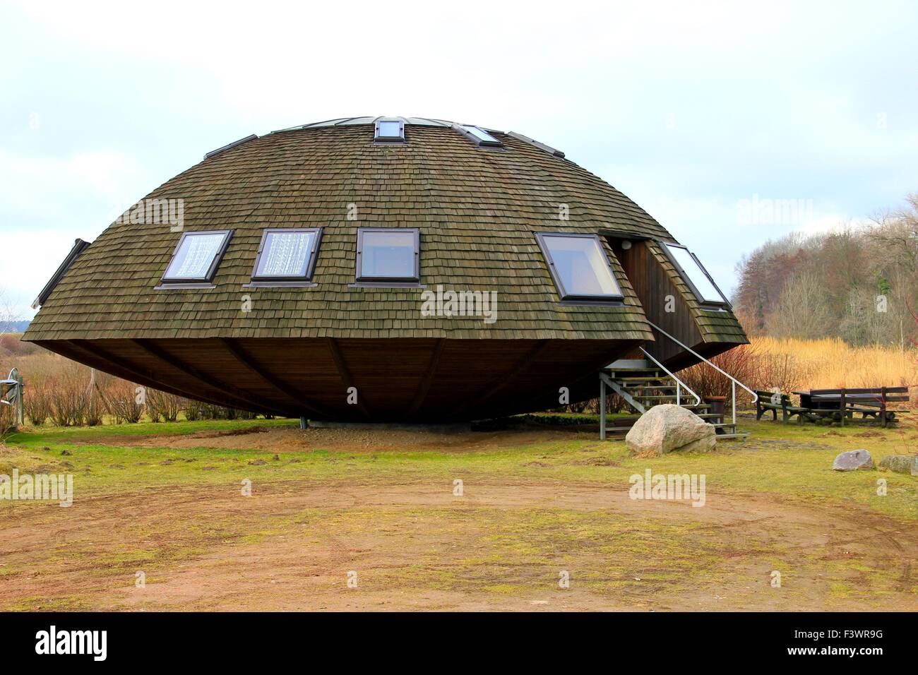 Ufo House In Wulkow