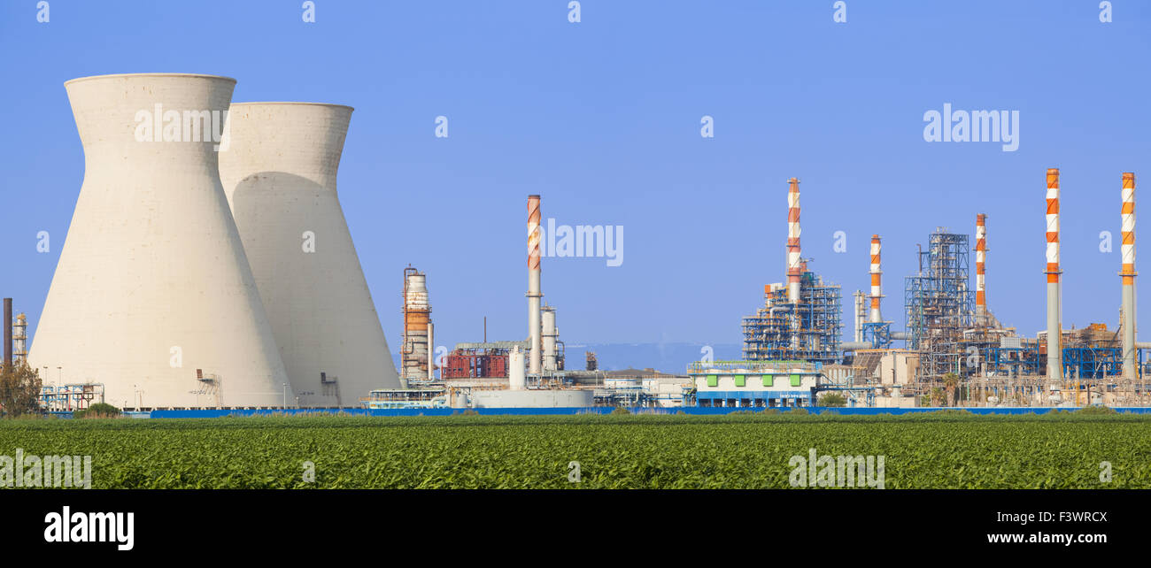 Nuclear Power Station - Stock Image