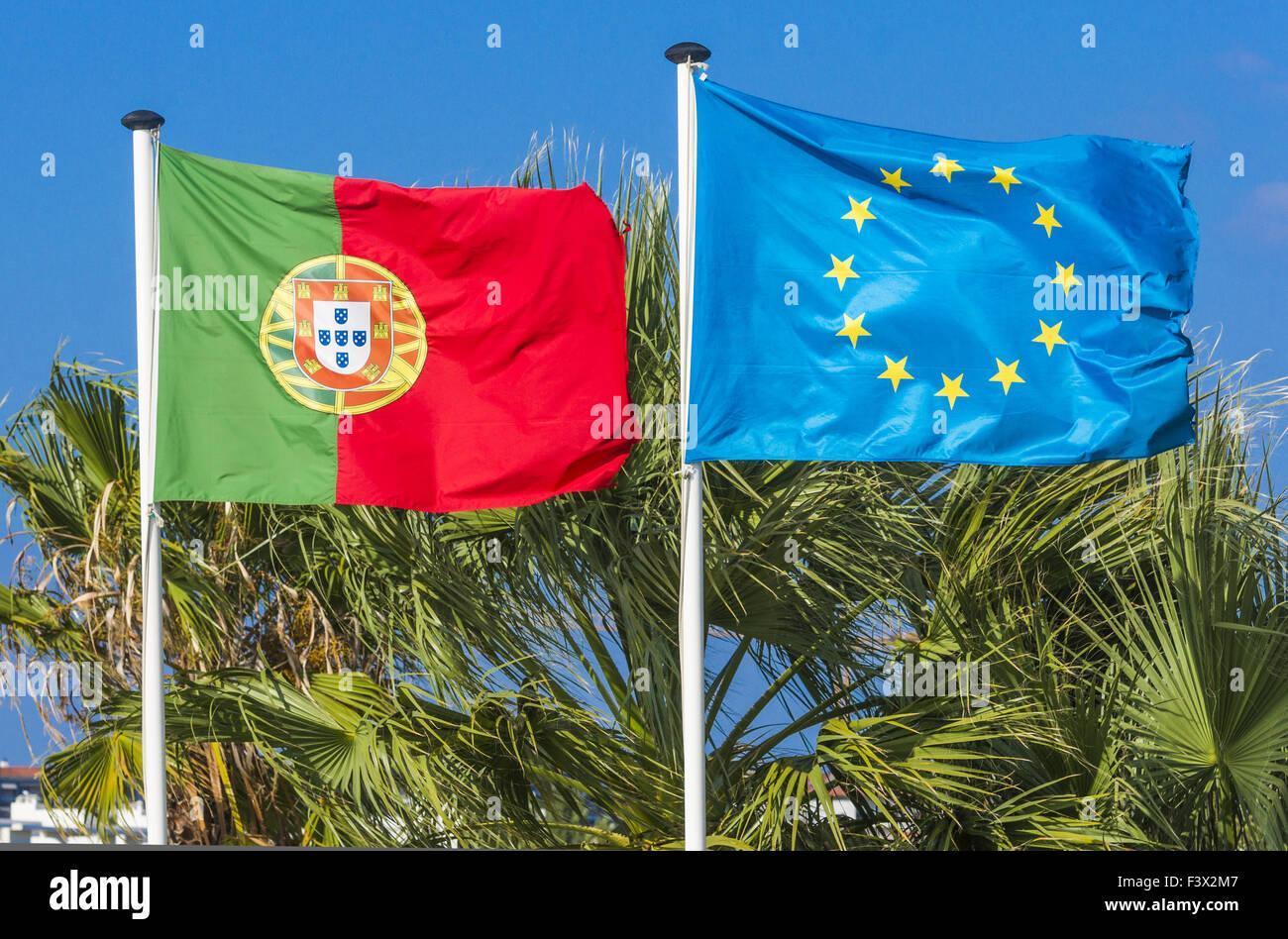 portugal, european union Stock Photo