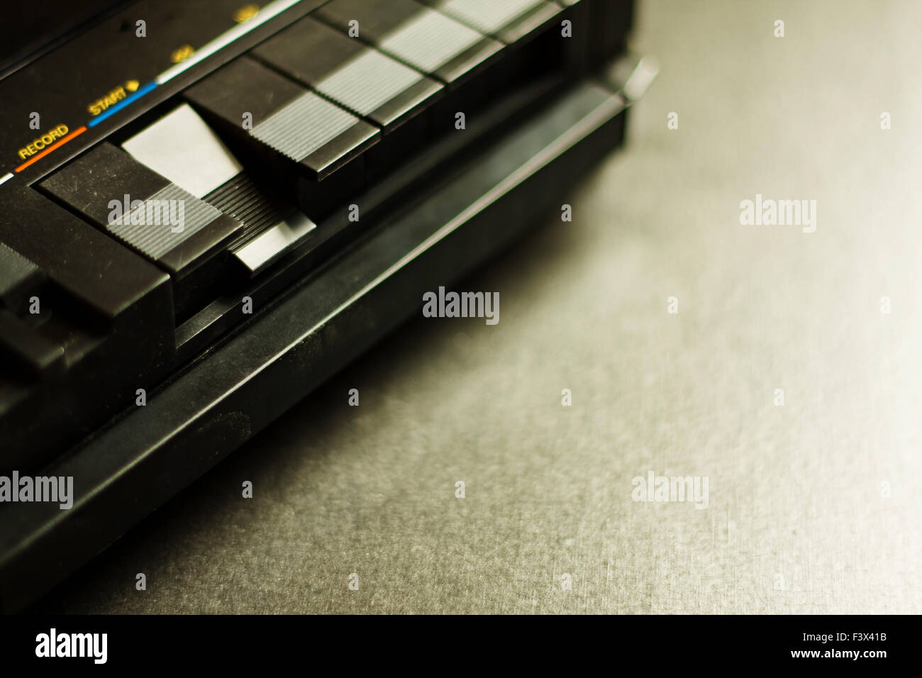 cassette tape recorder Stock Photo