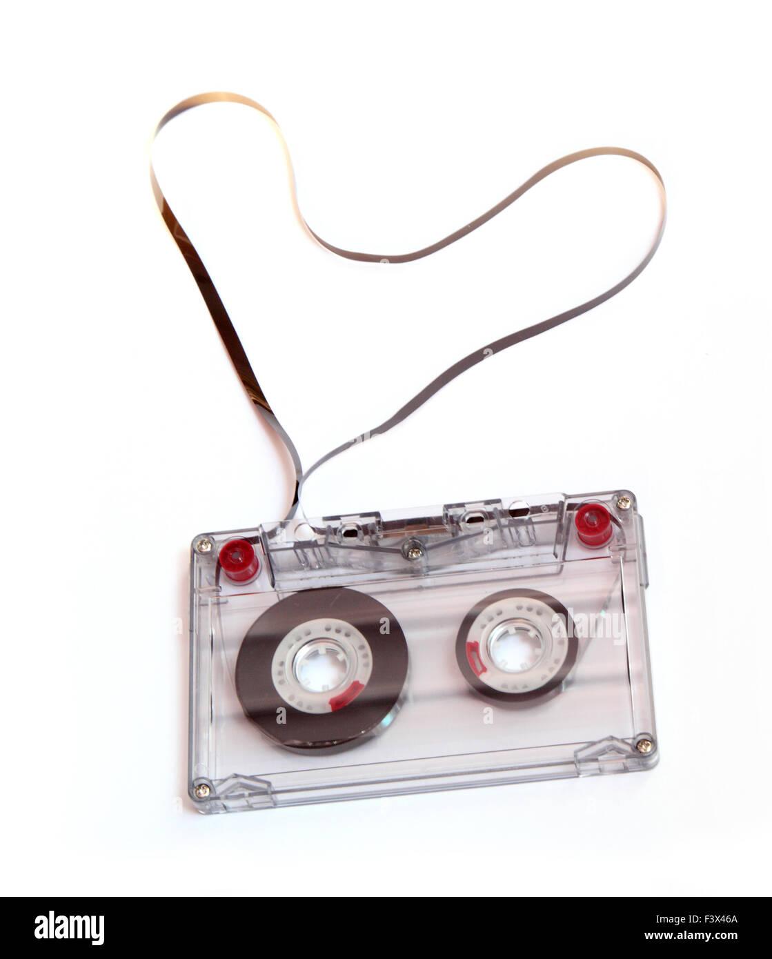 audiocassette - Stock Image