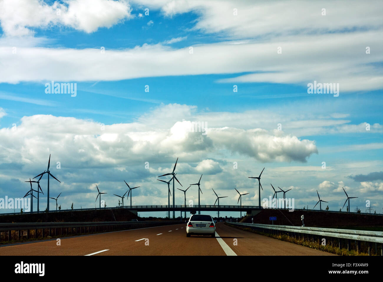 windpark - Stock Image